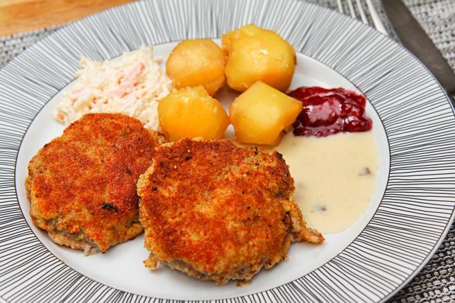 Hakkabuff með parmesan í raspi