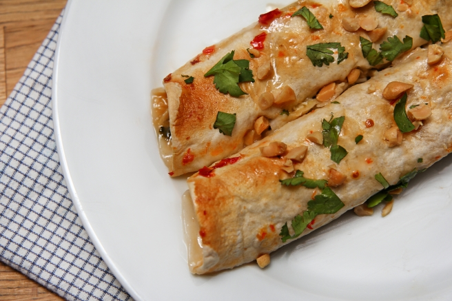 Tælenskt kjúklingaenchiladas