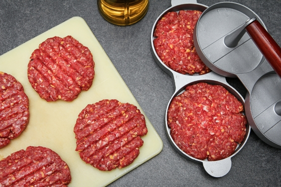 Heimagerðir BBQ-hamborgarar