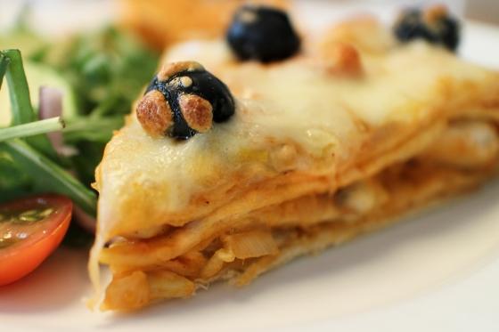 Tortillakaka með kjúklingi