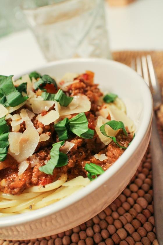 Hakk og spaghettí